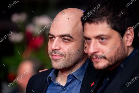Claudio Giovannesi  and Roberto Saviano arrives for the closing ceremony of the 69th Berlinale International Film Festival Berlin at Berlinale Palace on February 16, 2019 in Berlin, Germany.  (Photo by Manuel Romano/NurPhoto)