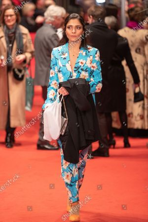 Pegah Ferydoni arrives for the closing ceremony of the 69th Berlinale International Film Festival Berlin at Berlinale Palace on February 16, 2019 in Berlin, Germany.  (Photo by Manuel Romano/NurPhoto)