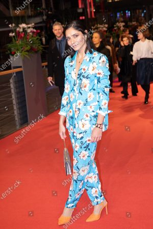 Stock Picture of Pegah Ferydoni arrives for the closing ceremony of the 69th Berlinale International Film Festival Berlin at Berlinale Palace on February 16, 2019 in Berlin, Germany.  (Photo by Manuel Romano/NurPhoto)