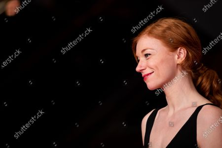 Marleen Lohse arrives for the closing ceremony of the 69th Berlinale International Film Festival Berlin at Berlinale Palace on February 16, 2019 in Berlin, Germany.  (Photo by Manuel Romano/NurPhoto)