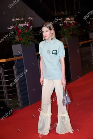 Stock Picture of Aino Laberenz arrives for the closing ceremony of the 69th Berlinale International Film Festival Berlin at Berlinale Palace on February 16, 2019 in Berlin, Germany.  (Photo by Manuel Romano/NurPhoto)