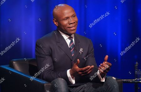 Stock Picture of Chris Eubank.