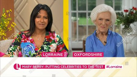 Ranvir Singh and Mary Berry