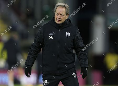 Stock Photo of Fulham assistant manager Stuart Gray