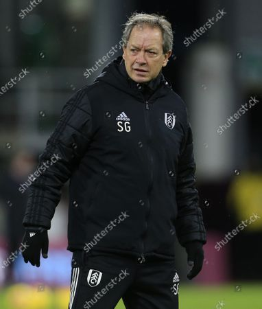 Stock Picture of Fulham assistant manager Stuart Gray
