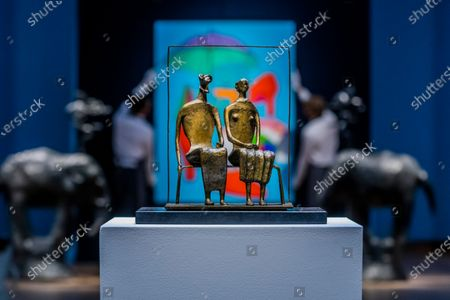 Editorial photo of A Preview of Christie's livestreamed Modern British Art Auction., King Street, London, UK - 17 Feb 2021