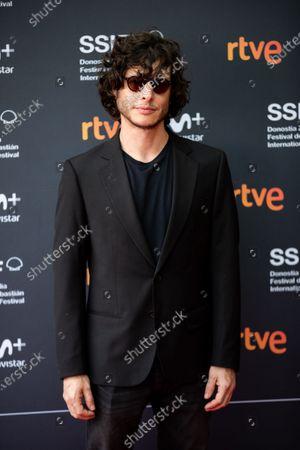 Stock Photo of Luis Ortega at 'The Angel' premiere during the 66th San Sebastian International Film Festival on September 28, 2018 in San Sebastian, Spain.