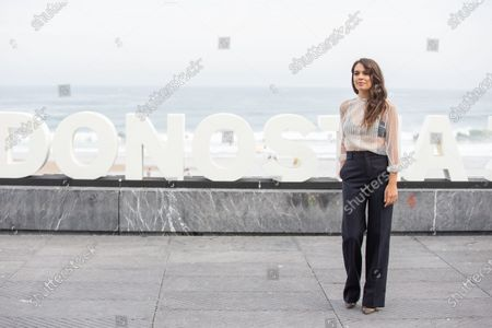 Claudia Traisac attends 'Vivir Sin Permiso' photocall during the 66th San Sebastian Film Festival on September 21, 2018 in San Sebastian, Spain.