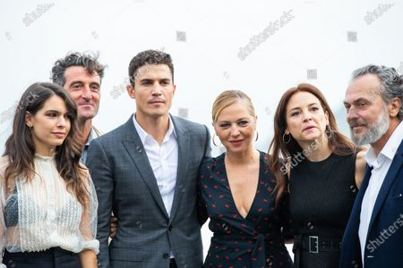 Editorial image of 'Vivir Sin Permiso' photocall, 66th San Sebastian Film Festival, San Sebastian, Spain - 21 Sep 2018