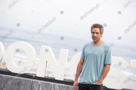 Unax Ugalde attends 'Vivir Sin Permiso' photocall during the 66th San Sebastian Film Festival on September 21, 2018 in San Sebastian, Spain.