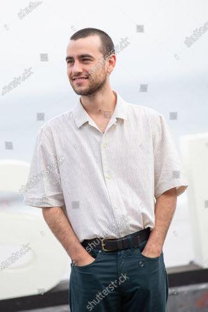 Alex Monner attends 'Vivir Sin Permiso' photocall during the 66th San Sebastian Film Festival on September 21, 2018 in San Sebastian, Spain.