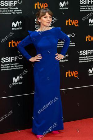 Editorial photo of 'Vivir Sin Permiso' premiere, 66th San Sebastian Film Festival, San Sebastian, Spain - 21 Sep 2018