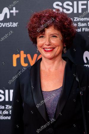 Director Iciar Bollain during the 'Yuli' Red Carpet at the 66th San Sebastian International Film Festival on September 23, 2018 in San Sebastian, Spain.