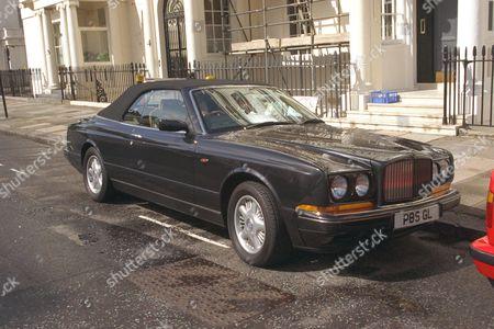 Gulu Lalvani's Bentley Azure Convertible