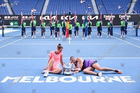 Editorial photo of Australian Open Tennis, Day Twelve, Melbourne Park, Australia - 19 Feb 2021