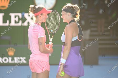 Editorial picture of Australian Open Tennis, Day Twelve, Melbourne Park, Australia - 19 Feb 2021