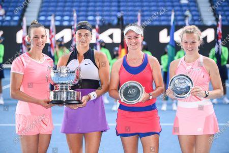 Editorial image of Australian Open Tennis, Day Twelve, Melbourne Park, Australia - 19 Feb 2021