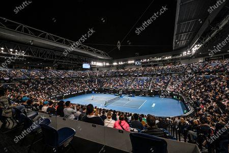 Editorial picture of Australian Open Tennis, Day Fourteen, Melbourne Park, Australia - 21 Feb 2021
