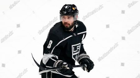 Los Angeles Kings defenseman Drew Doughty skates during the third period of an NHL hockey game against the Minnesota Wild, in Los Angeles. The Kings won 4-0