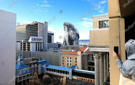 Editorial image of Trump Plaza Hotel and Casino Atlantic City New Jersey  Imploded, USA - 16 Feb 2021