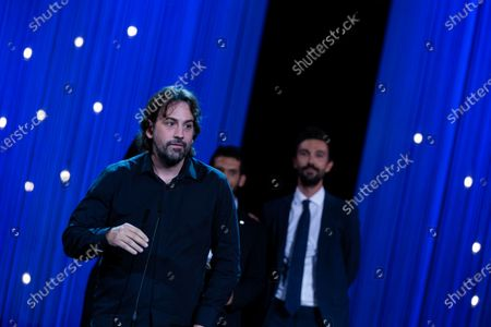 Stock Photo of Isaki Lacuesta during the closing ceremony of 66th San Sebastian Film Festival at Kursaal on September 29, 2018 in San Sebastian, Spain.