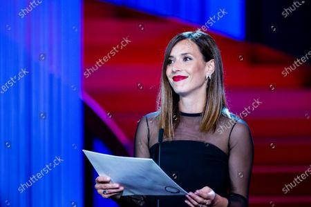 Barbara Goenaga during the closing ceremony of 66th San Sebastian Film Festival at Kursaal on September 29, 2018 in San Sebastian, Spain.