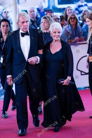 David Mills and Actress Judi Dench attends 'Red Joan' premiere during the 66th San Sebastian International Film Festival at Kursaal Palace on September 25, 2018 in San Sebastian, Spain.