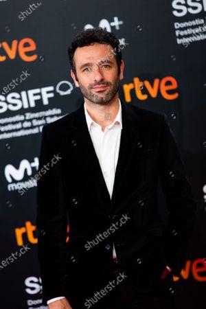 Rodrigo Sorogoyen attends the Donostia Award photocall during the 66th San Sebastian International Film Festival on September 22, 2018 in San Sebastian, Spain.