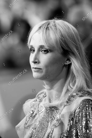 (EDITOR'S NOTE: Image was converted to black and white) Ingrid Garcia-Jonsson attends the Donostia Award photocall during the 66th San Sebastian International Film Festival on September 22, 2018 in San Sebastian, Spain.