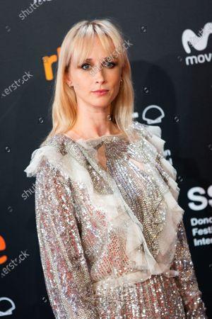 Stock Image of Ingrid Garcia-Jonsson attends the Donostia Award photocall during the 66th San Sebastian International Film Festival on September 22, 2018 in San Sebastian, Spain.