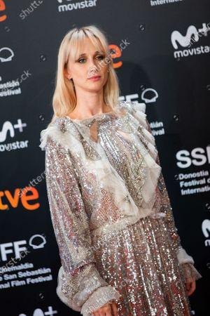 Stock Photo of Ingrid Garcia-Jonsson attends the Donostia Award photocall during the 66th San Sebastian International Film Festival on September 22, 2018 in San Sebastian, Spain.