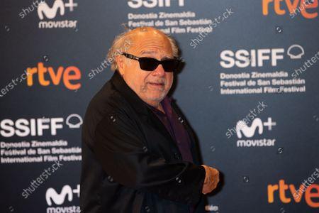 Stock Photo of Danny DeVito attends the Donostia Award photocall during the 66th San Sebastian International Film Festival on September 22, 2018 in San Sebastian, Spain.