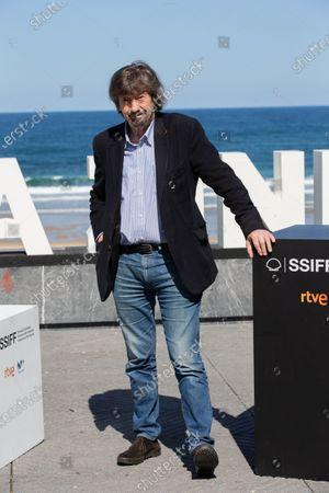 Stock Image of Sir Trevor Nunn attends the 'Red Joan' photocall during the 66th San Sebastian International Film Festival on September 25, 2018 in San Sebastian, Spain.