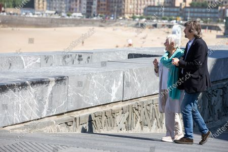 Stock Picture of Judi Dench, Sir Trevor Nunn attend the 'Red Joan' photocall during the 66th San Sebastian International Film Festival on September 25, 2018 in San Sebastian, Spain.