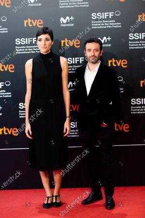 Isabel Pena and Rodrigo Sorogoyen attends the Donostia Award photocall during the 66th San Sebastian International Film Festival on September 22, 2018 in San Sebastian, Spain.