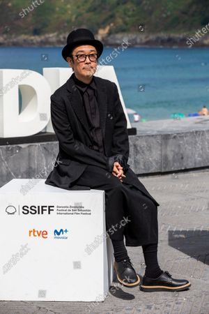 Lily Franky during the photocall for 'Donostia Award' at the 66th San Sebastian International Film Festival on September 23, 2018 in San Sebastian, Spain.