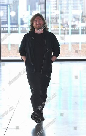 Mark Fast on the catwalk