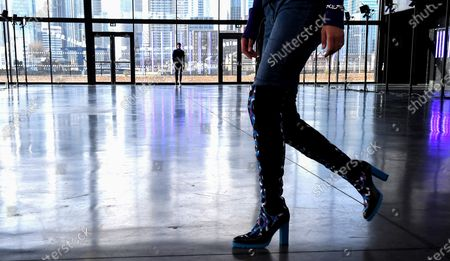 Model on the Catwalk, Details