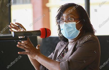 Editorial photo of Press conference on government preparedness to prevent Ebola outbreak, Monrovia, Liberia - 17 Feb 2021