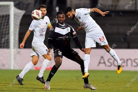 Editorial picture of FC Lugano v Servette FC, Swiss Super League, Lugano, Switzerland - 17 Feb 2021
