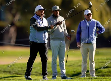 Editorial picture of Genesis Invitational Golf, Los Angeles, United States - 17 Feb 2021