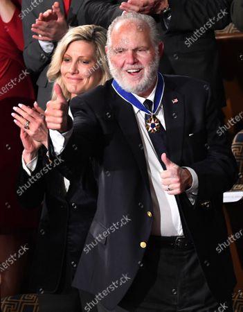 Editorial photo of Rush Limbaugh receives the Medal of Freedom, Washington, DC, USA - 04 Feb 2020