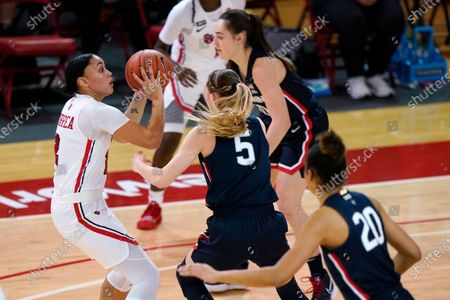 Editorial picture of UConn St Johns Basketball, New York, United States - 17 Feb 2021