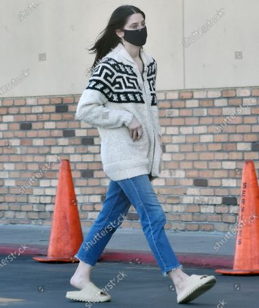 Editorial photo of Ashley Greene out and about, Los Angeles, California, USA - 17 Feb 2021