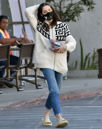 Editorial image of Ashley Greene out and about, Los Angeles, California, USA - 17 Feb 2021