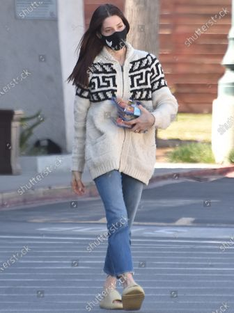 Editorial picture of Ashley Greene out and about, Los Angeles, California, USA - 17 Feb 2021