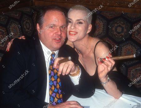 Rush Limbaugh and Susan Powder