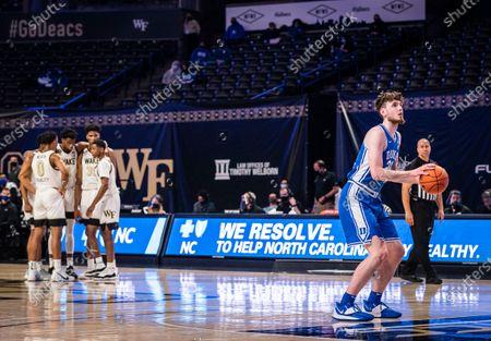 Editorial photo of Duke Wake Forest Basketball, Winston-Salem, United States - 17 Feb 2021