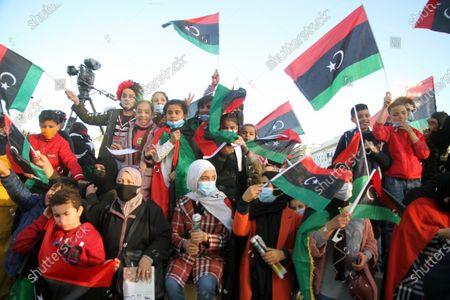 Editorial picture of Libya Tripoli Anti Gaddafi  Revolution 10th Anniversary - 17 Feb 2021