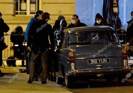 Editorial image of 'The Ipcress File' TV show on set filming, Liverpool, UK - 11 Feb 2021